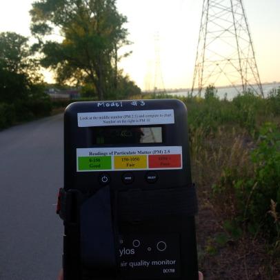 Air Monitoring at Beach Strip