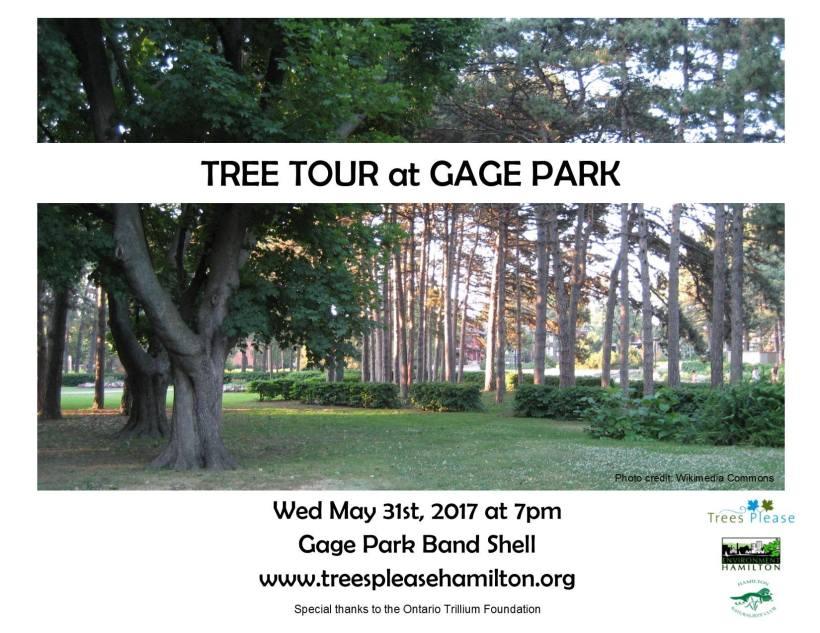 Gage Park Tree Tour