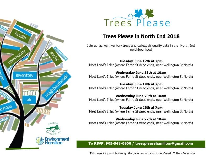 TP Schedule North End 2018