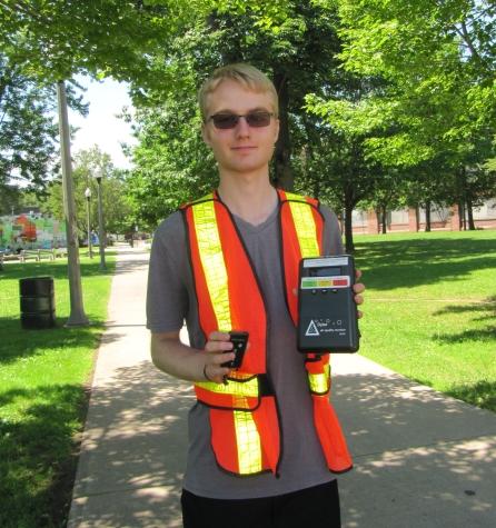 Sean Angel, our summer intern